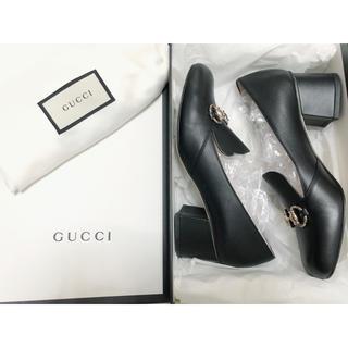 Gucci - GUCCI(グッチ)ローファー ブラック