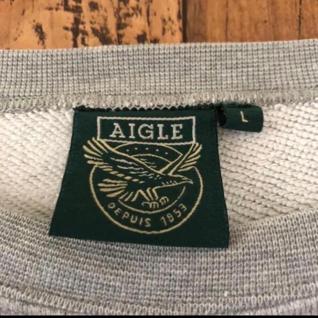 AIGLE(エーグル)のエーグル トレーナー AIGLE スウェット メンズ ボックスロゴ 90s メンズのトップス(スウェット)の商品写真