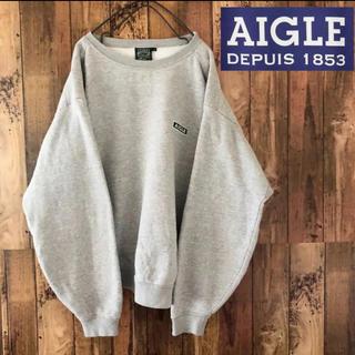 AIGLE - エーグル トレーナー AIGLE スウェット メンズ ボックスロゴ 90s
