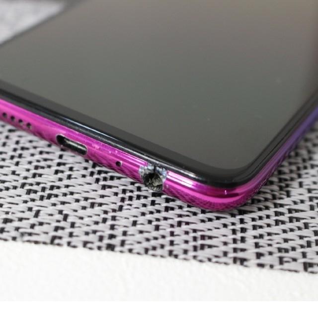R17 Neo 128GB UQmobile ブルー スマホ/家電/カメラのスマートフォン/携帯電話(スマートフォン本体)の商品写真