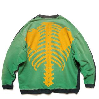 キャピタル(KAPITAL)のkapital bone 骨 スウェット トレーナー(スウェット)