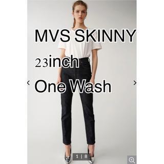 moussy - moussy mvs skinny 23インチ onewash