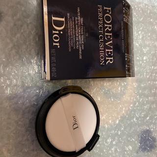 クリスチャンディオール(Christian Dior)のdior クッションファンデ リフィル 1N クッションファンデーション 限定(ファンデーション)