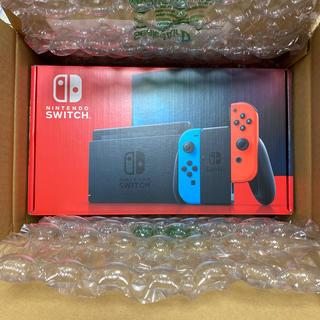 任天堂 - 【新品・未開封】Nintendo Switch ネオンブルー/(R) ネオ