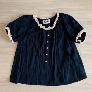 ケイティー(Katie)のKatie/MARINE GIRL puff blouse(シャツ/ブラウス(半袖/袖なし))