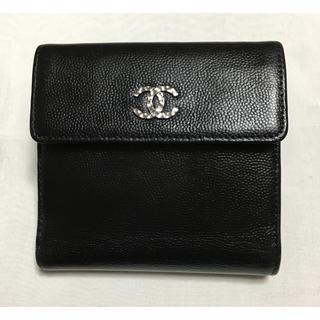 CHANEL - シャネル CHANEL チェーンミー 折り財布  リカラー品 美品