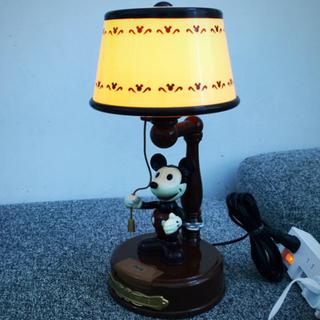 ディズニー(Disney)のアクションランプ ミッキーマウス (クラシック)(テーブルスタンド)