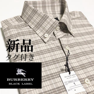 BURBERRY BLACK LABEL - 新品 入手困難 バーバリー ブラックレーベル チェック柄 ベージュ 長袖 S