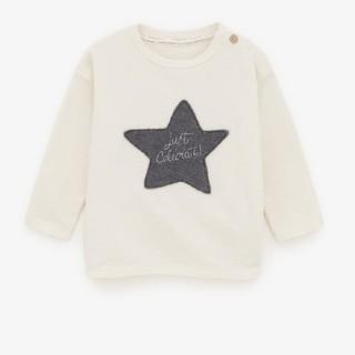 ザラキッズ(ZARA KIDS)の新品未使用★ZARABabyスターTシャツ(Tシャツ/カットソー)