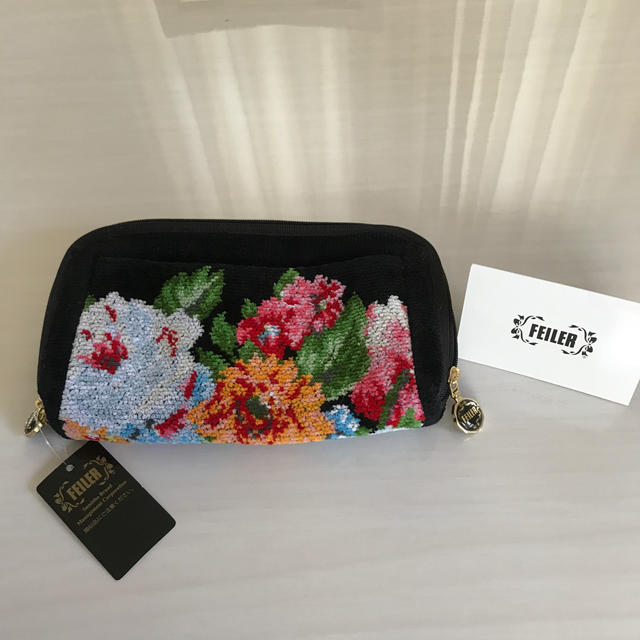 FEILER(フェイラー)のフェイラー 長財布 便利ポーチ レディースのファッション小物(財布)の商品写真