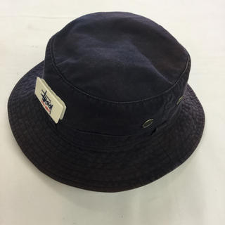 STUSSY - バケットハット 帽子 stussy ステューシー used オールドステューシー
