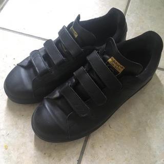 adidas - adidas スタンスミス stanSmith 24cm ブラック ベルクロ