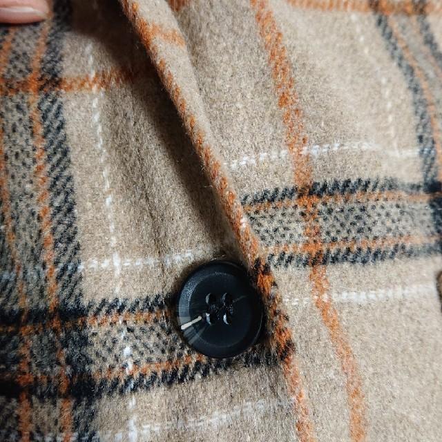 GRL(グレイル)のチェックシャツワンピースジャケット  グレイル レディースのワンピース(ひざ丈ワンピース)の商品写真