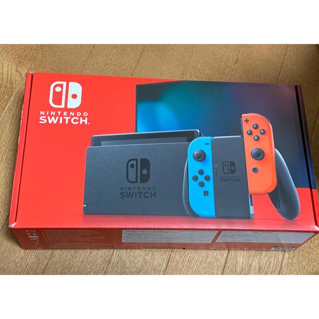 Nintendo Switch(ニンテンドースイッチ)のNintendo Switch JOY-CON ネオンブルー/ネオンレッド エンタメ/ホビーのゲームソフト/ゲーム機本体(家庭用ゲーム機本体)の商品写真