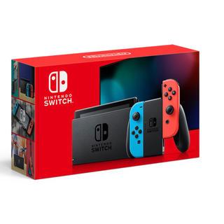 Nintendo Switch - Nintendo Switch JOY-CON ネオンブルー/ネオンレッド