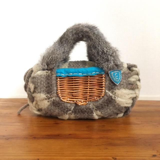 mina perhonen(ミナペルホネン)のエバゴス Ebagos バッグ かごバッグ レディースのバッグ(ハンドバッグ)の商品写真