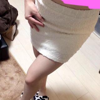 レディー(Rady)のスパンコール散りばめタイトスカート(ミニスカート)