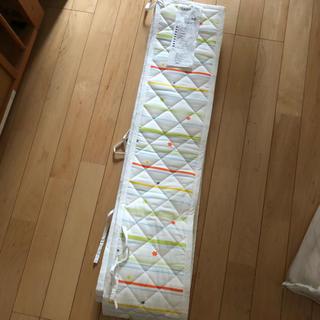 イケア(IKEA)のIKEA  ベビー ベットガード(シーツ/カバー)
