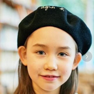 アニエスベー(agnes b.)のアニエスべー K134 E BERET ベレー帽キッズ(帽子)