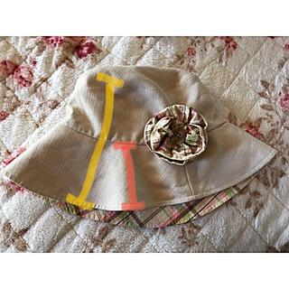 アフタヌーンティー(AfternoonTea)の帽子  日除け 折りたたみ アフタヌーンティー(ハット)