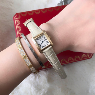 Cartier - 美品✨カルティエCartier タンクフランセーズ k18YG SM 腕時計