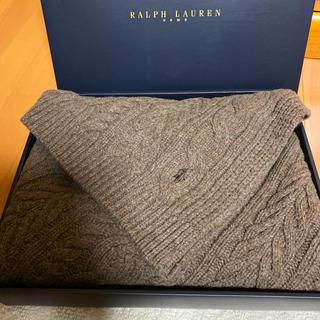 ラルフローレン(Ralph Lauren)のラルフローレン☆ケイシーひざ掛けウール100%新品未使用(その他)