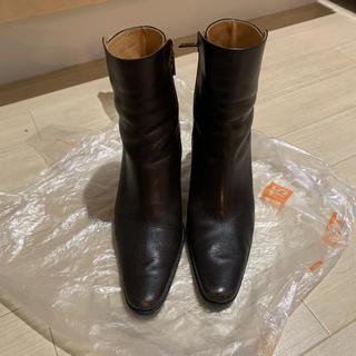 REGAL - ショートブーツ 【REGAL】ブラウン 24.5cm