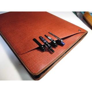 2冊用【Cover pocket A4ノートカバー】サニー■ブラウン (その他)