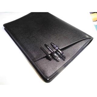 2冊用【Cover pocket A4ノートカバー】サニー■ブラック(その他)