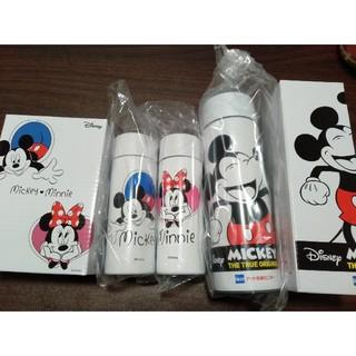 ミッキーマウス(ミッキーマウス)のアート引越センター  ミッキー&ミニーデザイン  オリジナルボトル(非売品)(水筒)
