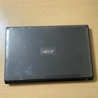 エイサー(Acer)のacer ノートパソコン ジャンク品 本体には目立った傷や汚れ無く美品(ノートPC)