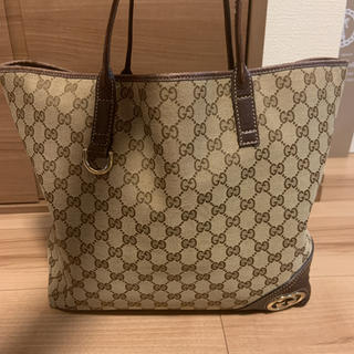 Gucci - GUCCI グッチ ニューブリット トートバッグ