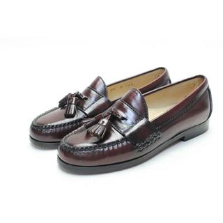 コールハーン(Cole Haan)の85■COLEHAAN 本革タッセルローファー(5半C)美品(ローファー/革靴)