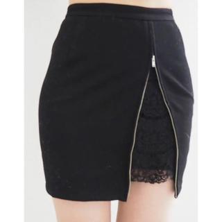 リゼクシー(RESEXXY)の新品♡リゼクシー♡ポイントレースタイトスカート♡(ミニスカート)