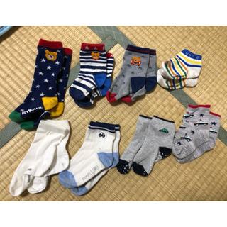 ホットビスケッツ(HOT BISCUITS)の靴下8足 ミキハウス  ホットビスケッツ アカチャンホンポ 13〜15 (靴下/タイツ)