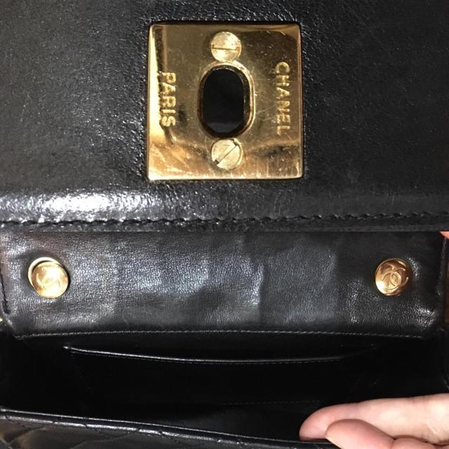 CHANEL(シャネル)の専用【ヴィンテージCHANEL】チェーンショルダーバッグ レディースのバッグ(ショルダーバッグ)の商品写真