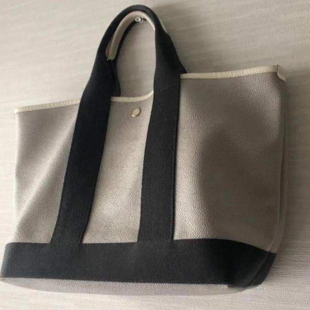 TOPKAPI(トプカピ)のトプカピトートバッグ A4サイズ グレージュ 大 レディースのバッグ(トートバッグ)の商品写真
