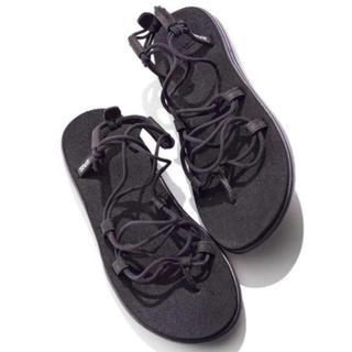 Teva - 【即購入可】Teva ボヤ インフィニティ 黒 23cm 新品タグ付き