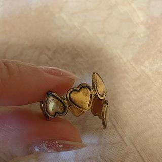 Lochie - vintage heart ring