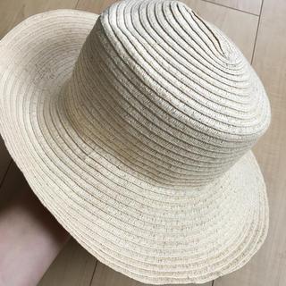 エイチアンドエム(H&M)のハット 麦わら帽子(麦わら帽子/ストローハット)