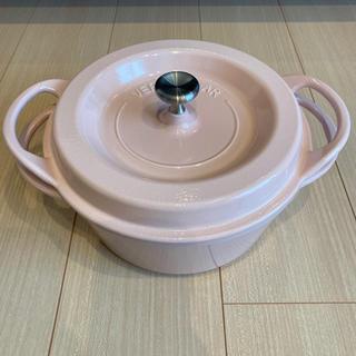 バーミキュラ(Vermicular)のバーミキュラ鍋♡22cmパールピンク(鍋/フライパン)