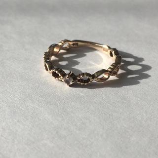 ノジェス(NOJESS)のNOJESS ノジェス ピンキーリング  K10(リング(指輪))