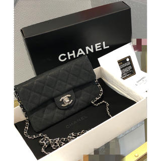 CHANEL - 超美品⭐️CHANEL❤️チェーンポシェット ウォレット