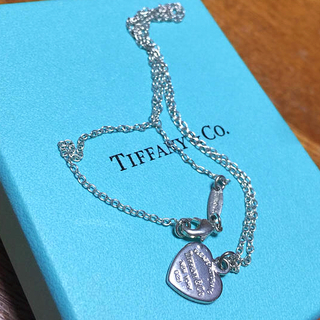 Tiffany & Co. - ティファニー ハート シルバーネックレス 正規品