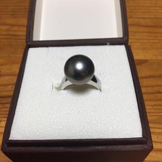 黒蝶真珠 リング ブラックパール(リング(指輪))