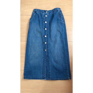 GU - デニムタイトスカート M