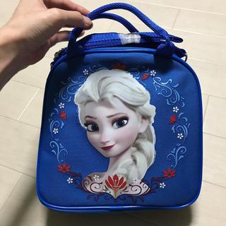 アナと雪の女王 - アナと雪の女王 ボトル付 バッグ アナ雪 ブルー