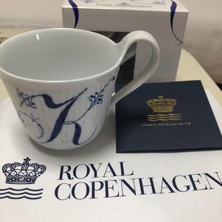 ROYAL COPENHAGEN - ロイヤルコペンハーゲン⭐️新品未使用イニシャルマグ