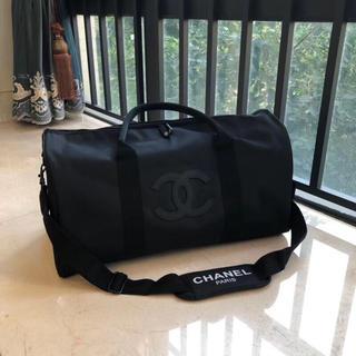 CHANEL - シャネル 旅行バッグ ジム トレーニング ノベルティ 黒ロゴ