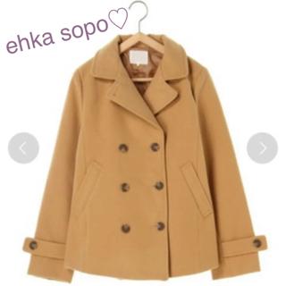 エヘカソポ(ehka sopo)のehka sopo エヘカソポ  Pコート(ピーコート)